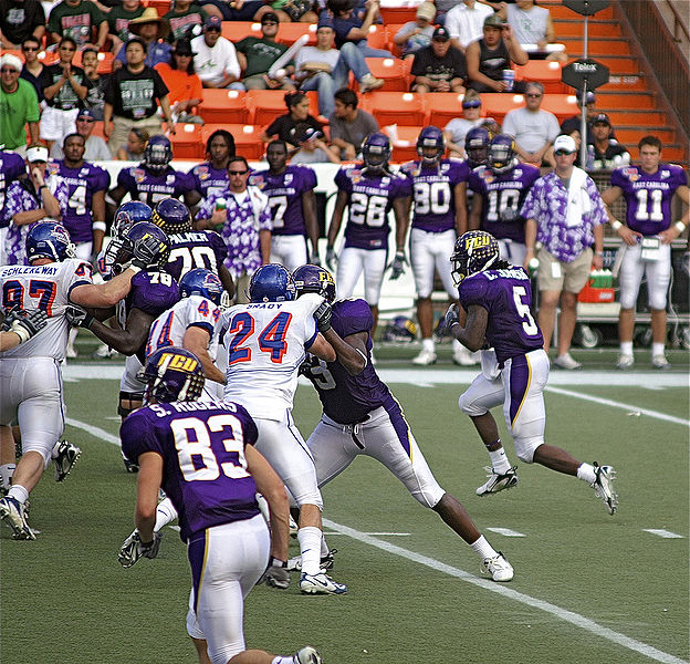 2007 Hawaii Bowl (Boise State vs East Carolina)
