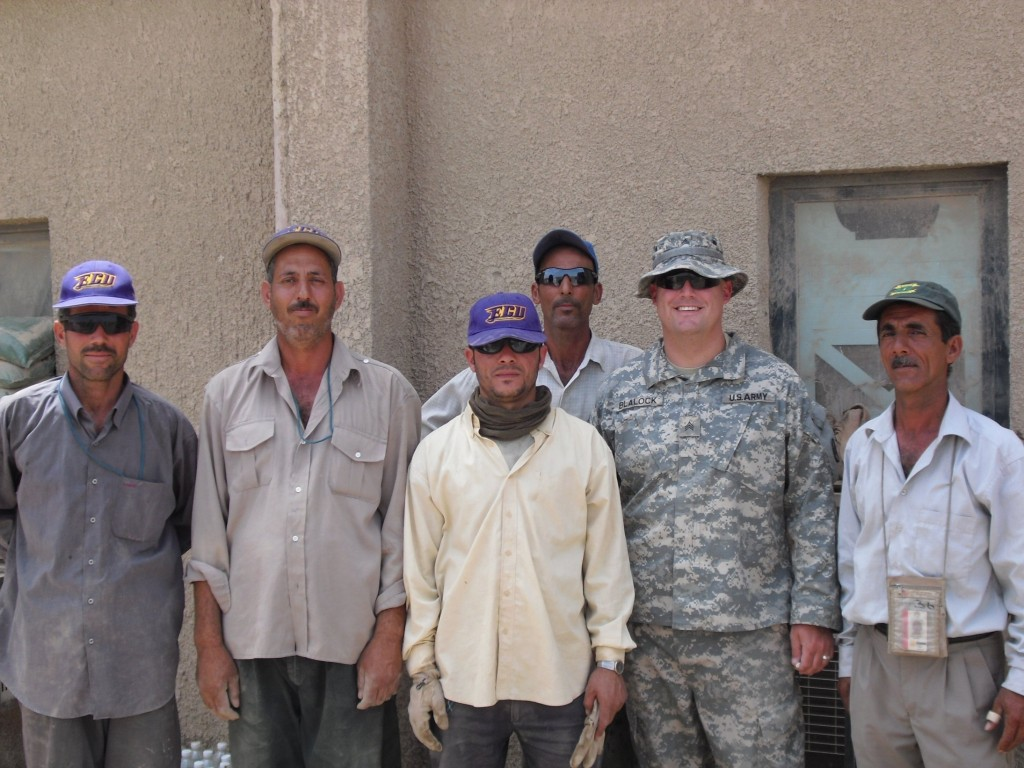 ECU in Iraq