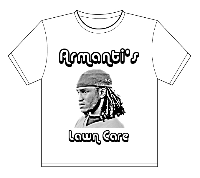 armantis lawn care t-shirt