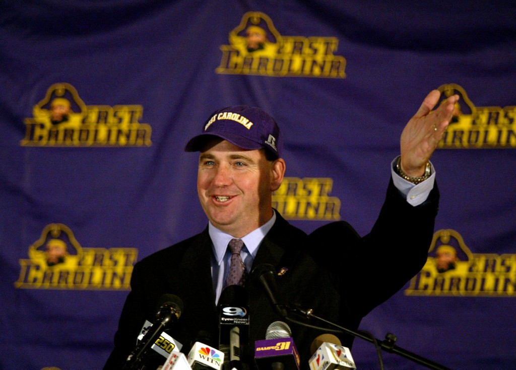 EAST CAROLINA SKIP HOLTZ